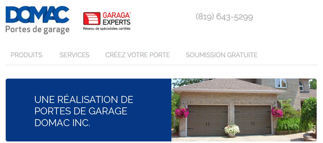 Portes de garage domac gatineau portes et fen tres for Fenetre gatineau
